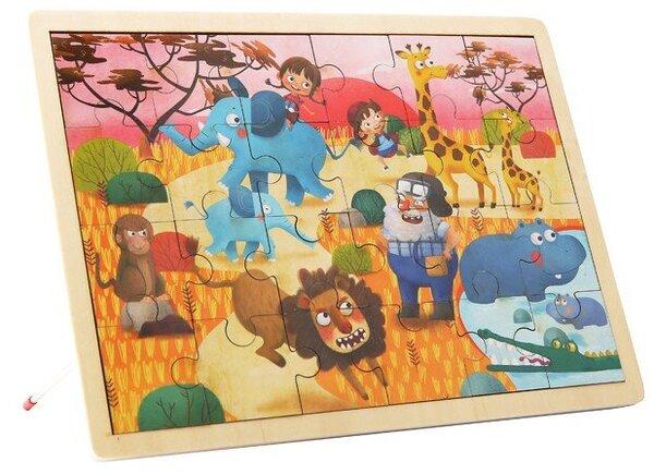 Дървен пъзел сафари, Tooky toy