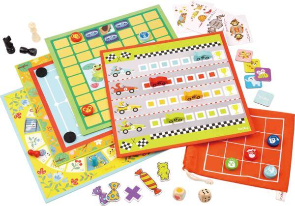 Комплект от 18 класически настолни игри, Tooky Toy