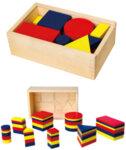 Логически дървени блокове на Денеш, Viga Toys