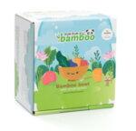 Комплект от бамбукова купичка и чинийка Заек с вакуумно дъно от Yum Yum bamboo