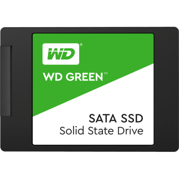 """SSD WD Green 3D NAND 120GB 2.5"""" SATA III SLC, read-write: up to 545MBs, 430MBs (3 years warranty)"""