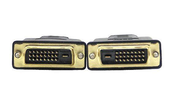 VCom Кабел DVI 24+1 Dual Link M / M +2 Ferrite - CG441GD-2m