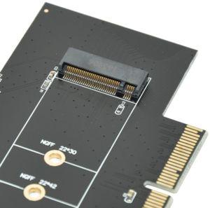 Makki Адаптер M2 SSD to PCI Express 3.0 4x adapter MAKKI-M2-PCIE-VE1