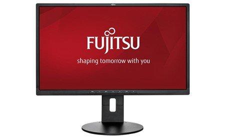 "Monitor Fujitsu B24-8 TS Pro, EU, Business Line 60,5cm(23.8"")wide Display, Ultra Wide View, LED, matt black, HDMI,DVI,VGA,USB, 4-in-1 stand"