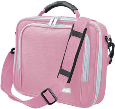 "Чанта за лаптоп TRUST 10"" Pink"