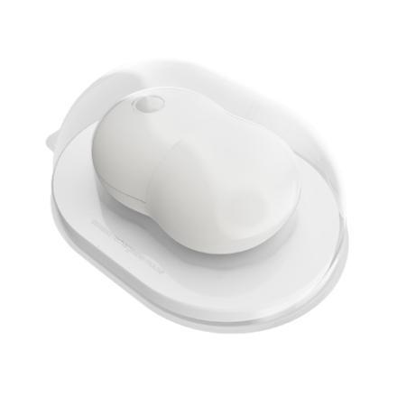 Безжична мишка Acme Peanut, презареждаема, оптична 1000dpi, бяла, USB