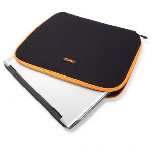 "Калъф Laptop Case CANYON NB SLEEVE for Laptop up to 10"", Black/Orange - CNR-NB11AO"