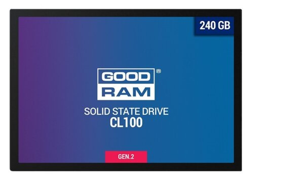 240GB SSD GOODRAM CL100 G2 - SSDPR-CL100-240-G2