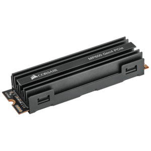 SSD Corsair Force MP600 series Gen4 NVMe (PCIe Slot) M.2 2280, 1TB 3D TLC NAND Up to 4,950MB/s Sequential Read, Up to 4,250MB/s Sequential Write: Up to 600K IOPS Random Write, Up to 680K IOPS