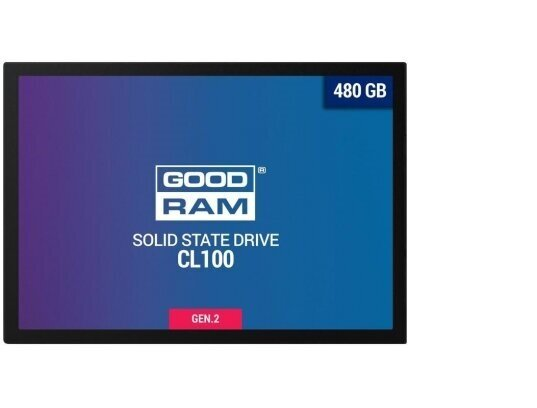 480GB SSD GOODRAM CL100 G2 - SSDPR-CL100-480-G2