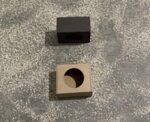 Кутия с отвор 145/125/75 мм
