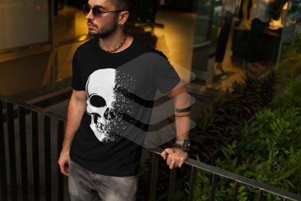 Тениски с черепи Изображение