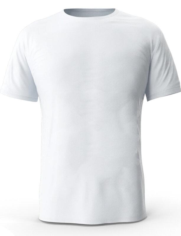 """Мъжка бяла тениска с щампа """"V lick girl""""-Copy"""