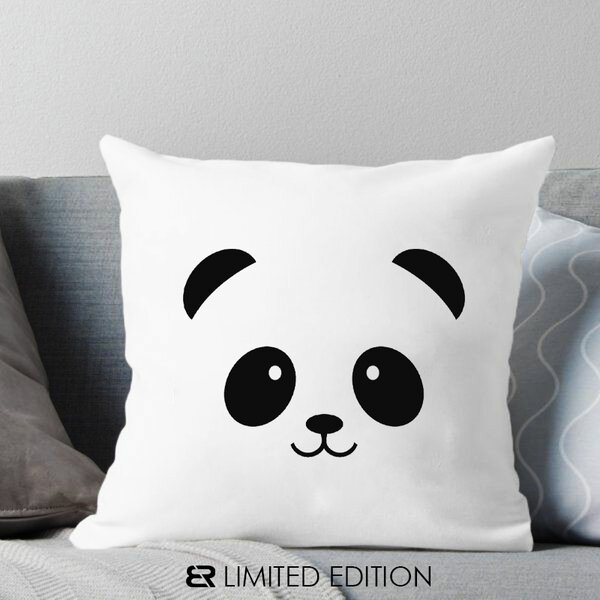 "Калъфка или възглавница Blazer Home с щампа ""Panda"""