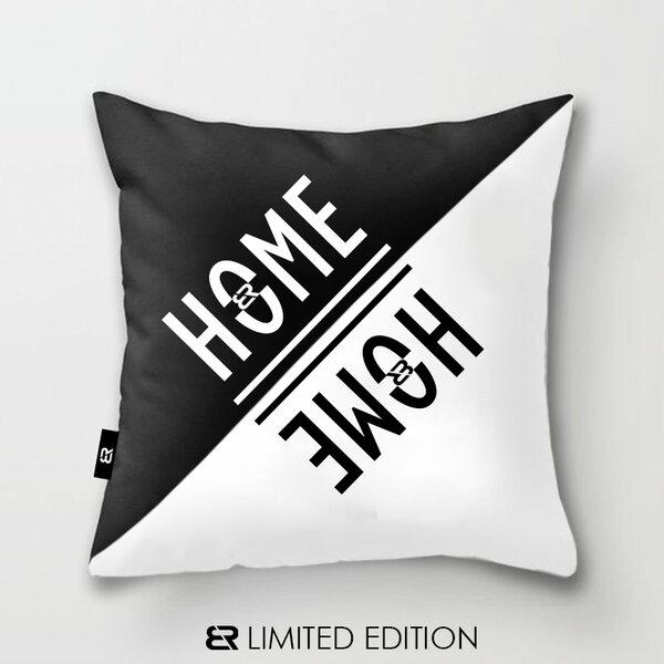 "Калъфка или възглавница Blazer Home с щампа ""Home"""
