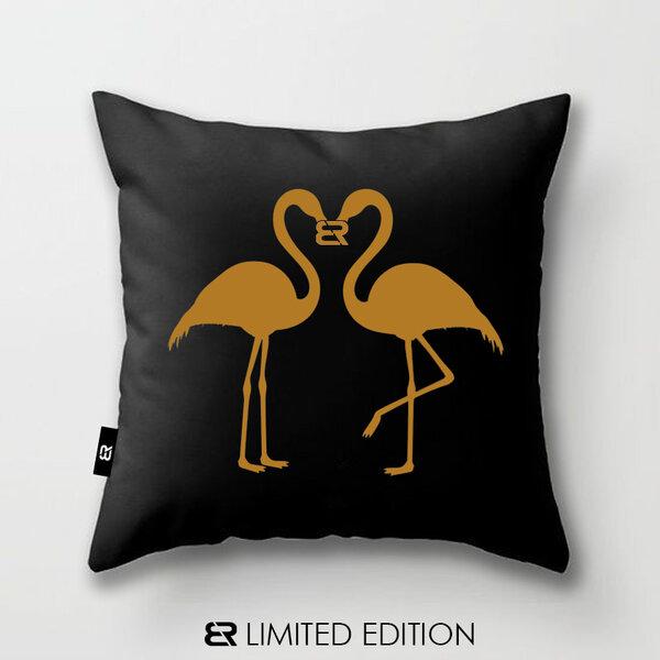 "Калъфка или възглавница Blazer Home с щампа ""Flamingo"""