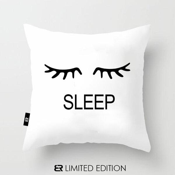 "Калъфка или възглавница Blazer Home с щампа ""Sleep"""
