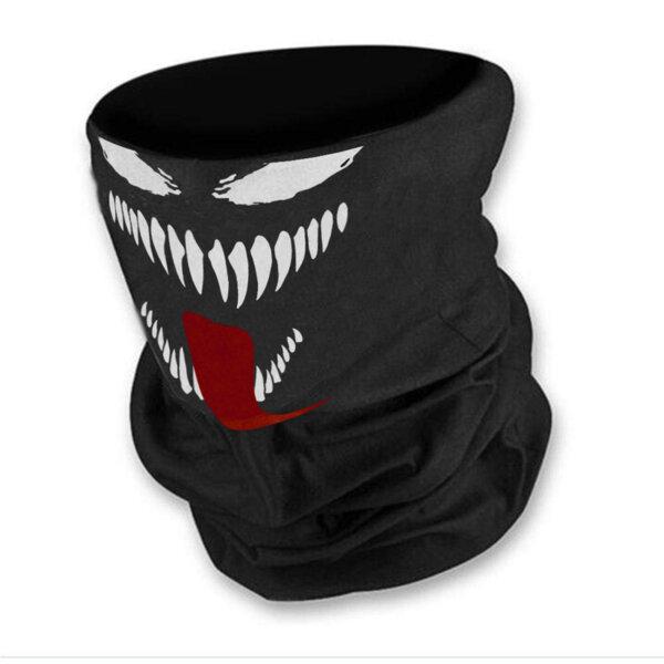 Маска за лице в черен цвят с Venom от Blazer Clothes