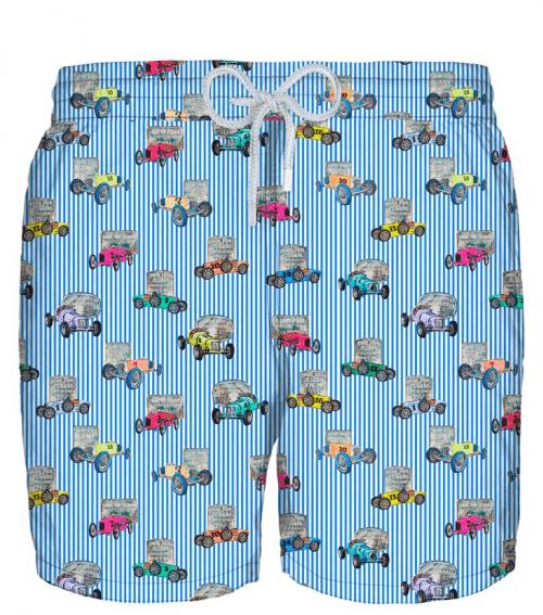 ZEYBRA - мъжки плажни шорти AUB921