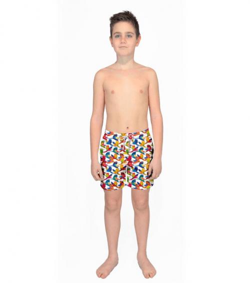 ZEYBRA - детски плажни шорти ABB928