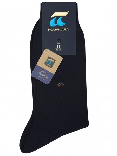 POURNARA мъжки чорапи от мерсеризиран памук, 129C