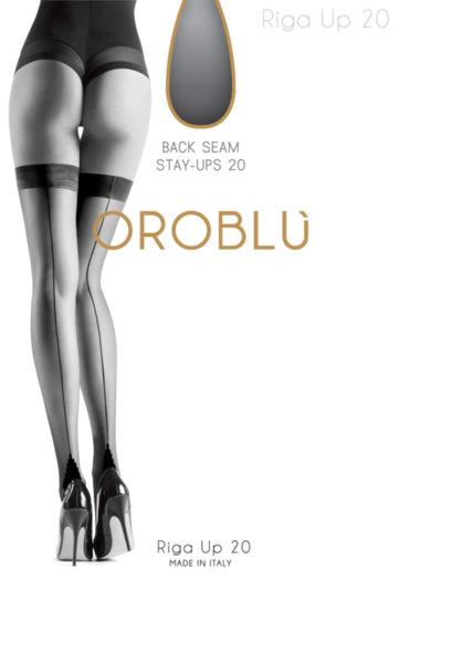 OROBLU Riga 20 Up чорапи с ръб над коляното, 20DEN, VОВC1108