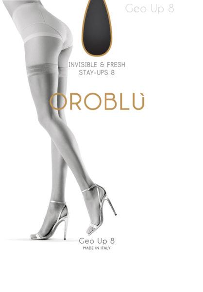 OROBLU Stay Up Geo класически силиконови чорапи, ОВ1003