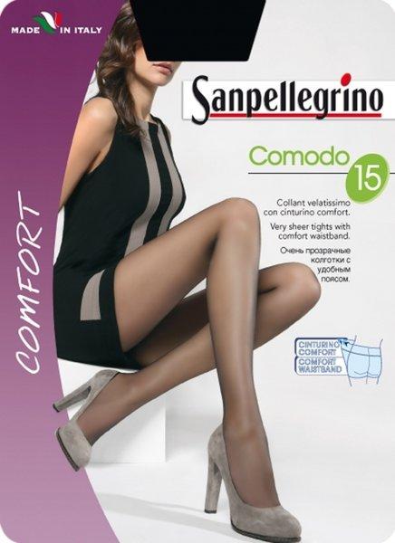 SANPELLEGRINO чорапогащи  COMODO, 15 DEN - SPC000254