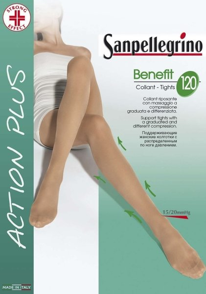 SANPELLEGRINO чорапогащи  BENEFIT 120 DEN - SPC00005
