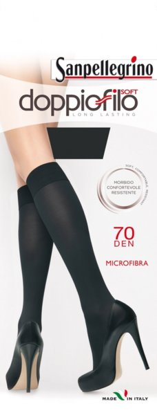 SANPELLEGRINO 3/4 чорапи  DOPPIOFILO 70 DEN - VSPC00235