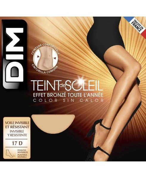 DIM Paris Teint de Soleil Clean Cut, D1184, 15DEN