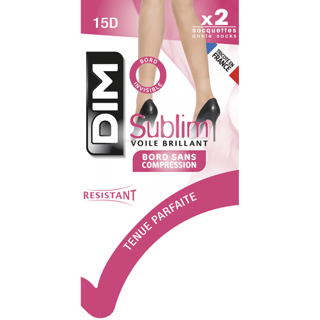 DIM  Paris Sublim 2  броя къси чорапи, D2067