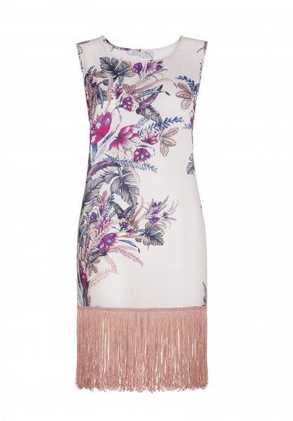 CROISETTE FRINGED DRESS рокля, VOBB65735
