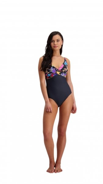 Moontide Eden F/G Cup Wrap Front One Piece -  цял бански, M4388ED