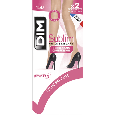 DIM  Paris Sublim 2  броя 3/4 чорапи, D2066