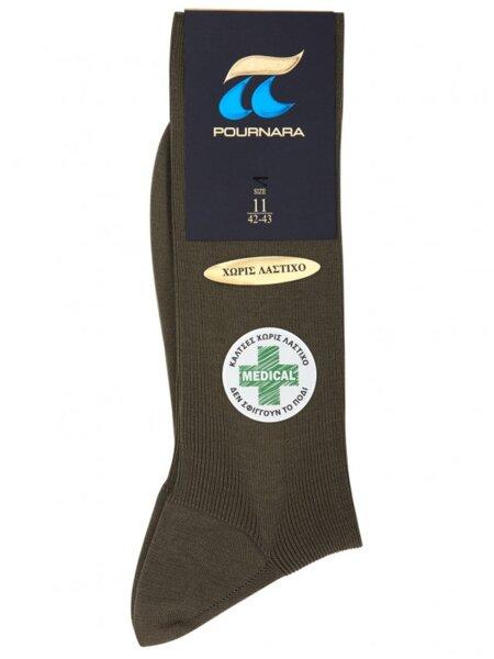 POURNARA мъжки чорапи от мерсеризиран памук, без ластик, арт 260