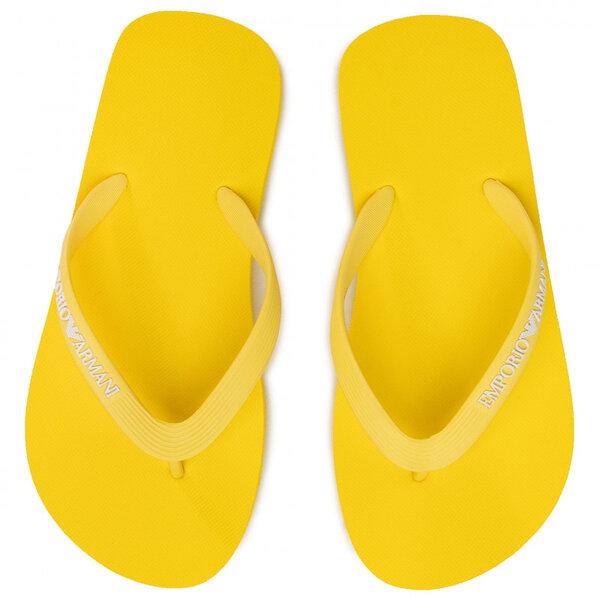 Emporio Armani  -  Дамски чехли, X3QS04 yellow