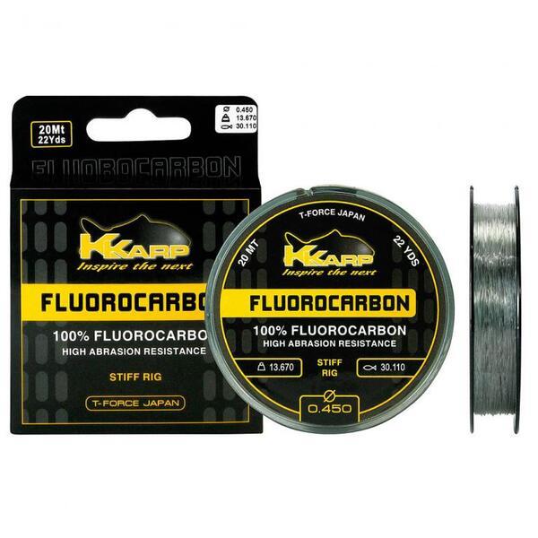 Флуорокарбоново влакно K-Karp FLUOROCARBON 20 m