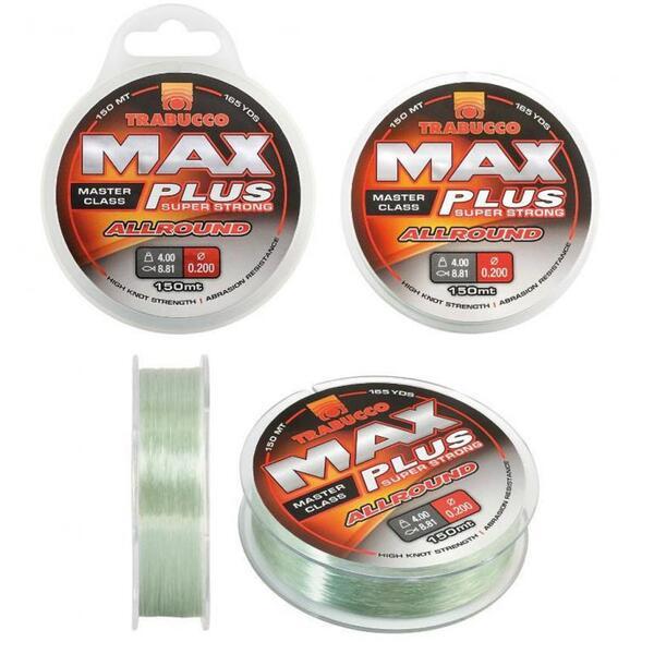 Монофилно влакно Trabucco MAX PLUS ALLROUND - 150м