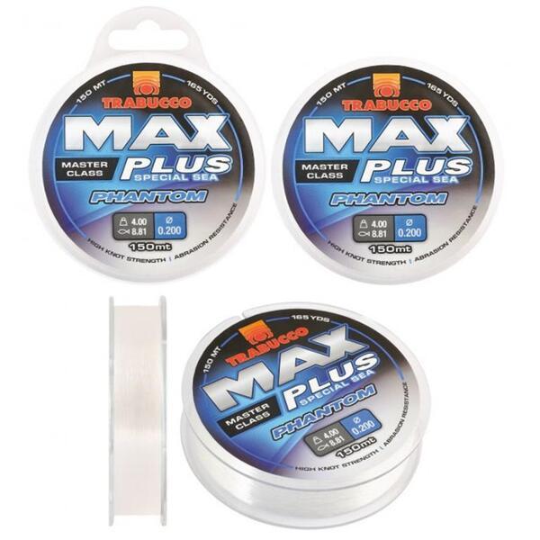 Монофилно влакно Trabucco MAX PLUS PHANTOM - 150м