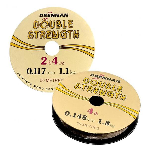 Монофилно влакно Drennan DOUBLE STRENGTH - 50м