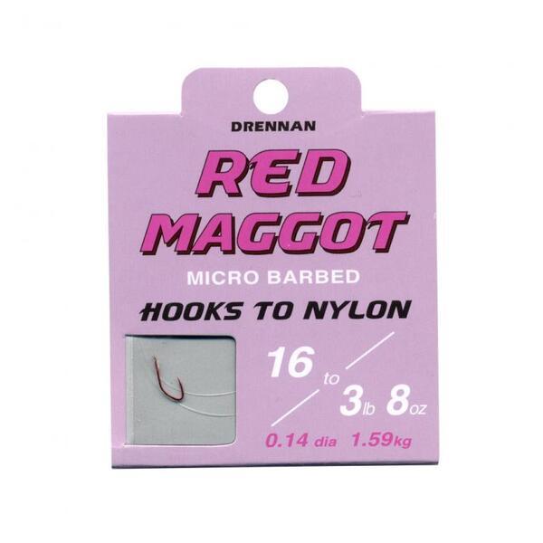 Вързани куки Drennan RED MAGGOT