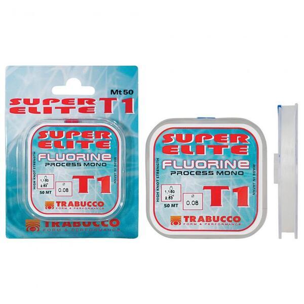 Монофилно влакно Trabucco SUPER ELITE FLUORINE - 50м