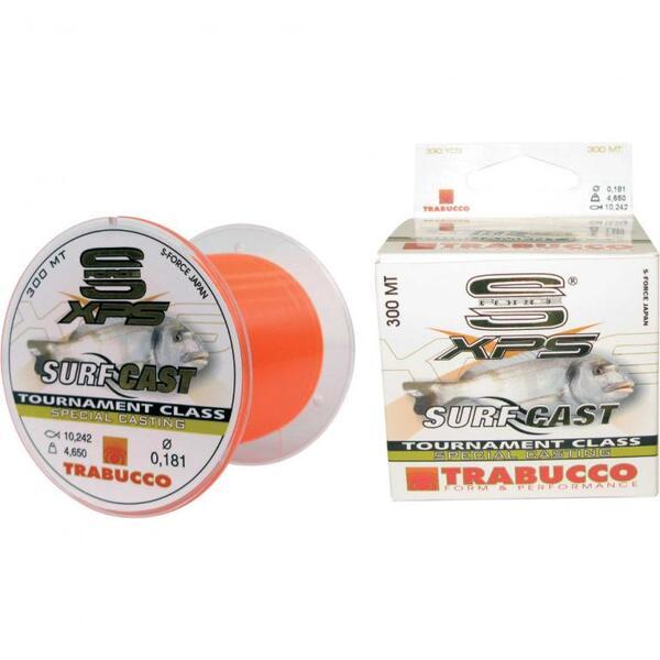 Монофилно влакно Trabucco S-FORCE SURF CASTING - 300м