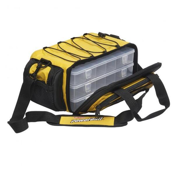 Риболовна чанта Berkley POWERBAIT Yellow - M
