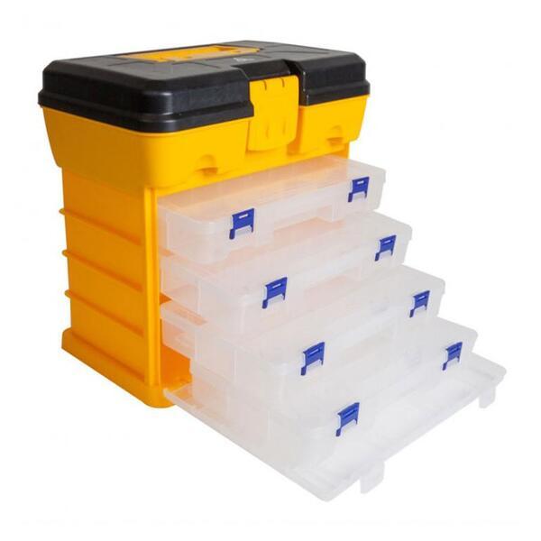 Куфар Raven PLASTIC UTILITY с 4 кутии