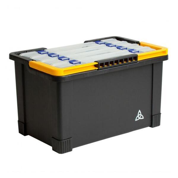 Кофа Raven PLASTIC BASKET с 4 кутии