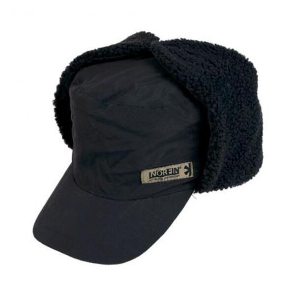 Зимна шапка-ушанка Norfin BLACK