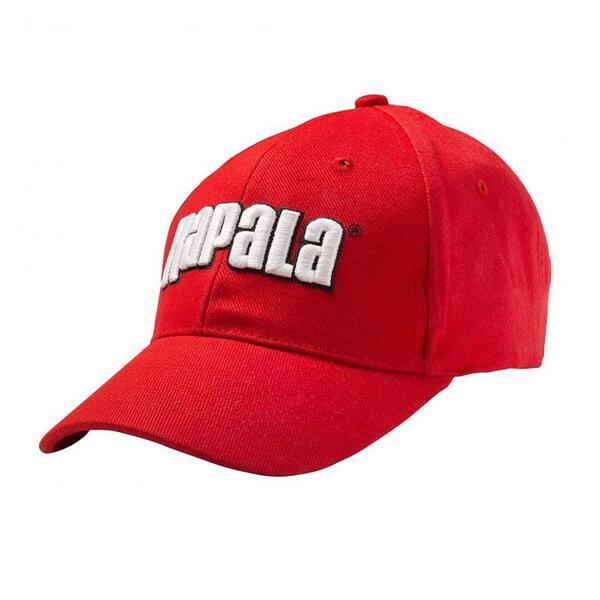 Бейзболна шапка Rapala 3D - червена