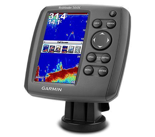 Сонар Garmin Fishfinder 560C
